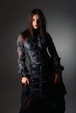 πορτρέτο δαντελλών μόδας &kap στοκ φωτογραφία με δικαίωμα ελεύθερης χρήσης