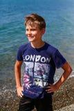 Πορτρέτο ενός αγοριού Στοκ Φωτογραφία