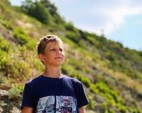 Πορτρέτο ενός αγοριού Στοκ Εικόνα