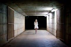 Πορτρέτο ενός ασιατικού κοριτσιού αποκριών Στοκ Φωτογραφία