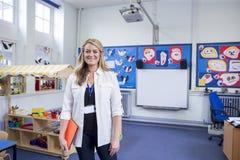 Πορτρέτο ενός δασκάλου σχολείου στοκ εικόνες με δικαίωμα ελεύθερης χρήσης