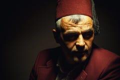 Πορτρέτο ενός ατόμου από τη Μακεδονία ή τη Βοσνία στοκ φωτογραφίες