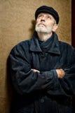 Πορτρέτο ενός ατόμου με τη γενειάδα και μια ΚΑΠ Στοκ φωτογραφίες με δικαίωμα ελεύθερης χρήσης
