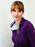 Πορτρέτο ενός γιατρού Στοκ Εικόνα