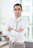 Πορτρέτο ενός επιχειρηματία Στοκ Εικόνα