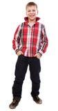 Πορτρέτο ενός ευτυχούς νέου αγοριού Στοκ Εικόνα