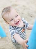 Πορτρέτο ενός ευτυχούς παιδιού μικρών παιδιών Στοκ Εικόνες