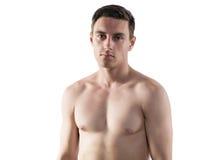 Πορτρέτο ενός ελκυστικού αθλητικού τύπου αθλητών στοκ φωτογραφία