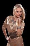 Πορτρέτο ενός ελκυστικού νέου brunette στοκ φωτογραφίες με δικαίωμα ελεύθερης χρήσης