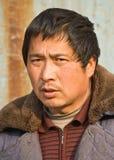 Πορτρέτο ενός διακινούμενου εργαζομένου στο Πεκίνο, Κίνα Στοκ φωτογραφία με δικαίωμα ελεύθερης χρήσης