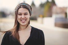 Πορτρέτο ενός καθημερινού κοριτσιού Στοκ εικόνες με δικαίωμα ελεύθερης χρήσης