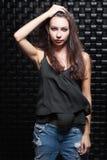 Πορτρέτο ενός καλού νέου brunette στοκ εικόνες