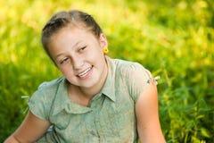 Πορτρέτο ενός κοριτσιού εφήβων Στοκ εικόνα με δικαίωμα ελεύθερης χρήσης