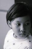 Πορτρέτο ενός κοριτσιού παιδιών Στοκ εικόνες με δικαίωμα ελεύθερης χρήσης