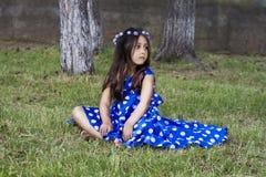 Πορτρέτο ενός κοριτσιού παιδιών Στοκ Φωτογραφίες