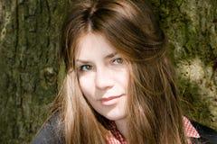 Πορτρέτο ενός κοριτσιού Στοκ Φωτογραφίες