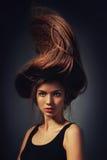 Πορτρέτο ενός κοριτσιού Στοκ Φωτογραφία
