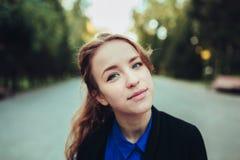 Πορτρέτο ενός κοριτσιού Στοκ εικόνα με δικαίωμα ελεύθερης χρήσης