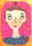 Πορτρέτο ενός κοριτσιού Στοκ φωτογραφία με δικαίωμα ελεύθερης χρήσης