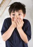 Πορτρέτο ενός νέου αγοριού στοκ εικόνες με δικαίωμα ελεύθερης χρήσης