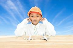 Πορτρέτο ενός νέου αγοριού Στοκ Φωτογραφία