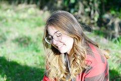 Πορτρέτο ενός νέου κοριτσιού Στοκ Εικόνα