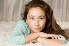 Πορτρέτο ενός νέου κοριτσιού, Στοκ Φωτογραφίες