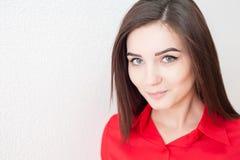 Πορτρέτο ενός νέου κοριτσιού στοκ φωτογραφίες με δικαίωμα ελεύθερης χρήσης