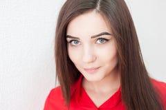 Πορτρέτο ενός νέου κοριτσιού Στοκ Φωτογραφίες