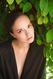 Πορτρέτο ενός νέου κοριτσιού Στοκ Εικόνες