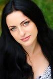 Πορτρέτο ενός νέου όμορφου κοριτσιού, brunette Να εξετάσει το γ Στοκ φωτογραφία με δικαίωμα ελεύθερης χρήσης