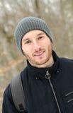 Πορτρέτο ενός νεαρού άνδρα Στοκ φωτογραφία με δικαίωμα ελεύθερης χρήσης