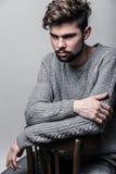 Πορτρέτο ενός νεαρού άνδρα Στοκ Εικόνα