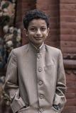Πορτρέτο ενός νεαρού σε Bhaktapur στοκ εικόνα με δικαίωμα ελεύθερης χρήσης