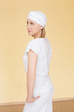 Πορτρέτο ενός ξανθού στα ενδύματα για τη γιόγκα Στοκ Φωτογραφίες