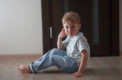 Πορτρέτο ενός παιδιού Στοκ Εικόνα