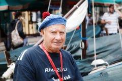 Πορτρέτο ενός παλαιού ψαρά Στοκ φωτογραφία με δικαίωμα ελεύθερης χρήσης