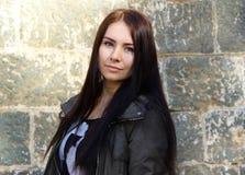 Πορτρέτο ενός πολύ όμορφου κοριτσιού Στοκ Εικόνα