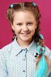 Πορτρέτο ενός συναισθηματικού κοριτσιού στοκ φωτογραφία