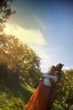Πορτρέτο ενός όμορφου ζεύγους στοκ φωτογραφία με δικαίωμα ελεύθερης χρήσης