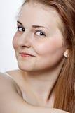 Πορτρέτο ενός όμορφου θηλυκού τρόπου Στοκ Εικόνα
