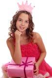 Πορτρέτο ενός όμορφου κοριτσιού εφήβων της ευρωπαϊκής εμφάνισης Στοκ φωτογραφία με δικαίωμα ελεύθερης χρήσης