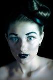 Πορτρέτο ενός όμορφου κοριτσιού Στοκ Φωτογραφία