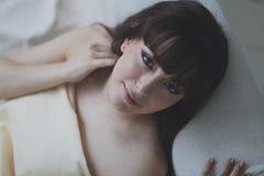 Πορτρέτο ενός όμορφου κοριτσιού Στοκ Εικόνα