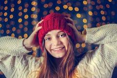 Πορτρέτο ενός όμορφου κοριτσιού στοκ εικόνα με δικαίωμα ελεύθερης χρήσης