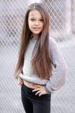 Πορτρέτο ενός όμορφου μικρού κοριτσιού Στοκ εικόνα με δικαίωμα ελεύθερης χρήσης
