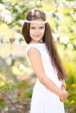 Πορτρέτο ενός όμορφου μικρού κοριτσιού Στοκ φωτογραφίες με δικαίωμα ελεύθερης χρήσης
