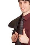 Πορτρέτο ενός όμορφου νεαρού άνδρα σε ένα επιχειρησιακό sui Στοκ φωτογραφία με δικαίωμα ελεύθερης χρήσης