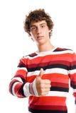 Πορτρέτο ενός όμορφου νεαρού άνδρα Στοκ εικόνα με δικαίωμα ελεύθερης χρήσης