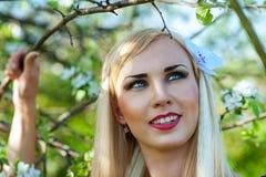 Πορτρέτο ενός όμορφου χαμογελώντας Σαμουράι Στοκ φωτογραφίες με δικαίωμα ελεύθερης χρήσης